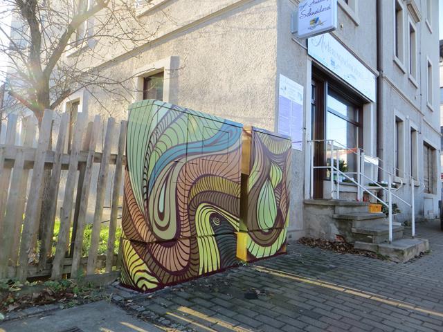 abstraktes Bild diverser Linien