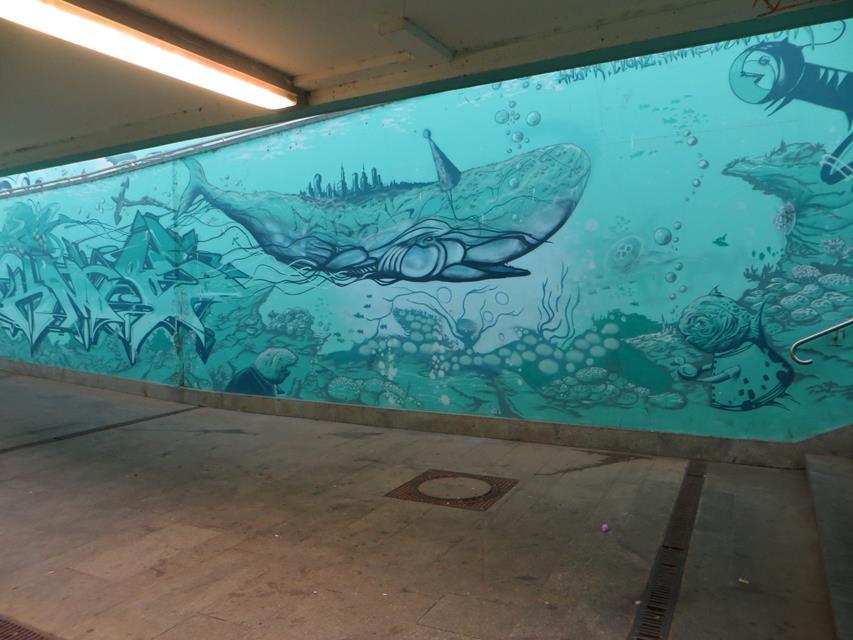 14. Tunnel Gorbitz blau