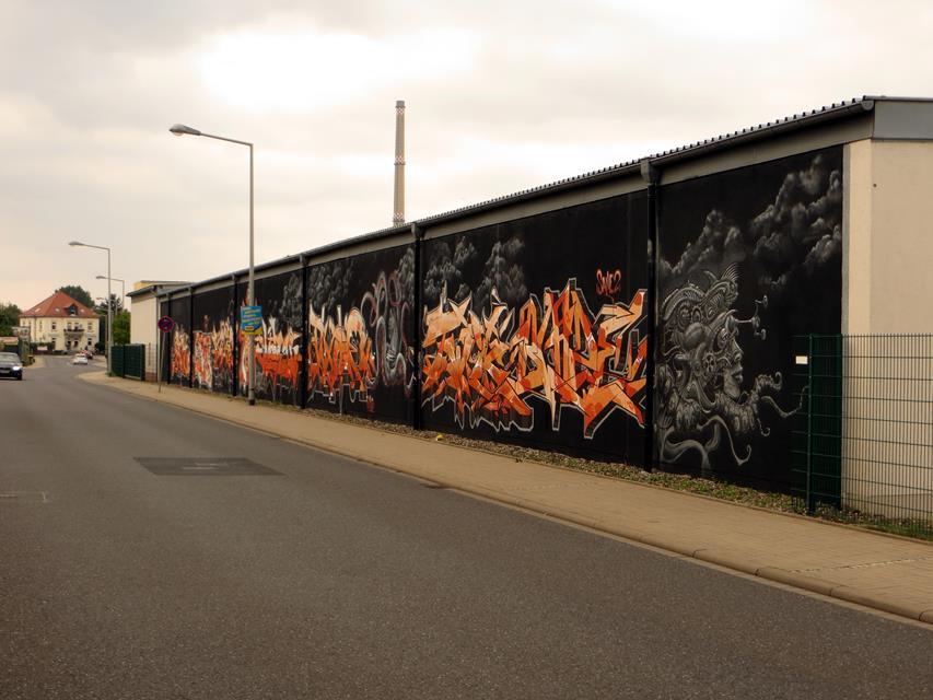 20 Jahre Bandits Wand