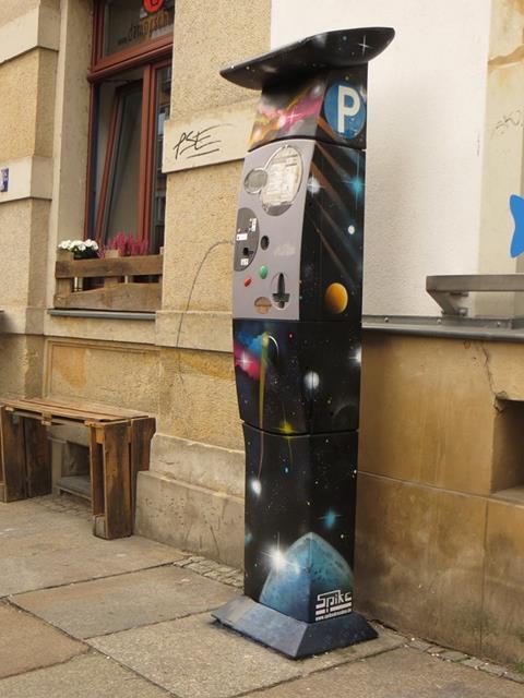 Parkautomat an der Louisenstraße 24