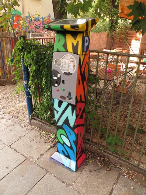Parkautomat an der Louisenstraße 41-43