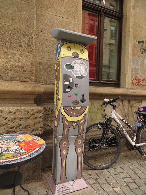 Parkautomat an der Görlitzer Straße 37