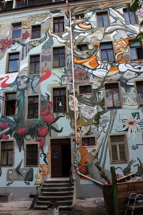 Fassade Rudolf Leonhard Str.1